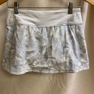 Lululemon pace rival no panels run/tennis skirt
